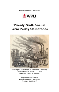 Ohio Valley History Conference Program