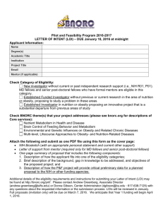 LOI Form (Word Doc download) - Boston Nutrition Obesity Research