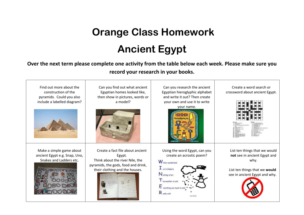 Woodlands primary homework help egypt nile