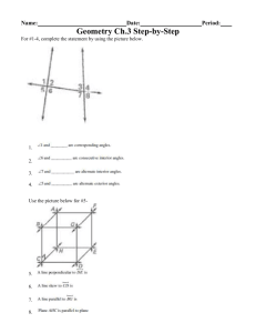 Geometry Ch.3 Step-by-Step