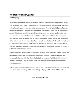 media_kit_files/Stephen Robinson short bio