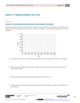 Grade 8 Mathematics Module 6, Topic A, Lesson 3