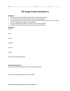 AST Design Worksheet – Group 5