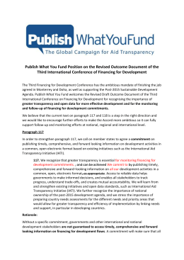 151005-Publish-What-You-Fund-Position-on-the-Revised