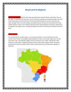 Brazil and its Regions