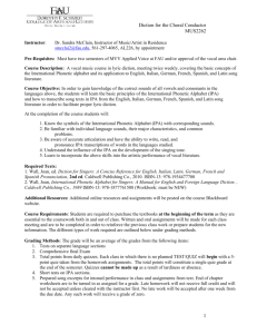 Syllabus - Florida Atlantic University