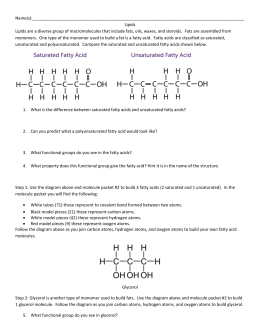 an essay on the subject of lipids Testing for lipids, proteins and carbohydrates elementary school (k-5)  subjects(s): biology/life science, chemistry  testing for the presence of lipids .