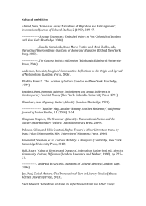 Select bibliography - University of Warwick