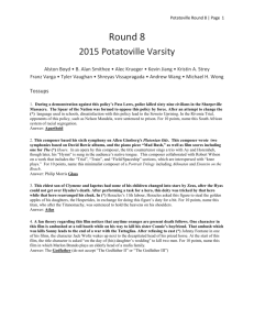 Round 08 - High School Quizbowl Packet Archive