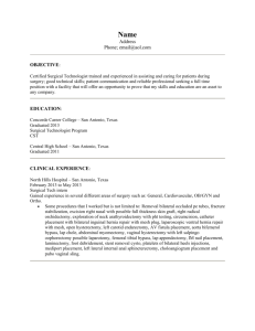 Sample ST Resume 1
