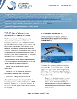 word - E&P Sound and Marine Life Joint Industry Programme