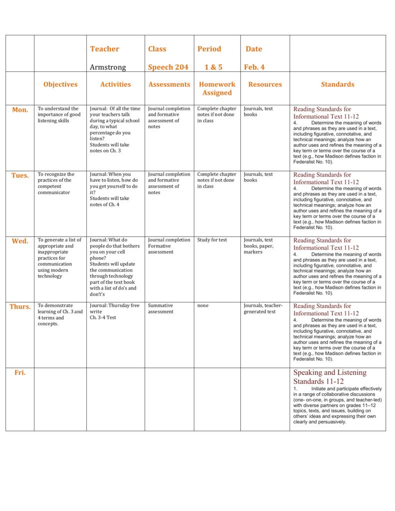 class essay writing samples pdf