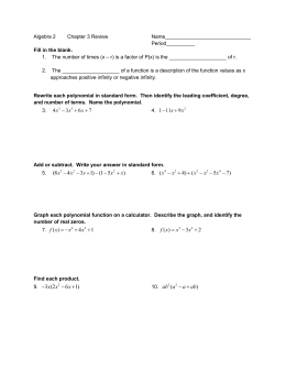 Math Worksheetssion With Answers Printable Long Polynomials ...