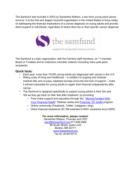 The Samfund At A Glance