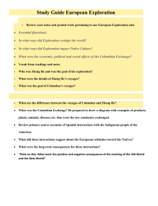 Study Guide European Exploration