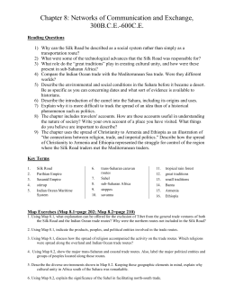 Ch 8 Study Guide