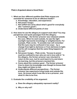 How To Write A Proposal Essay Paper Platos Argument About A Good Ruler Essays On Importance Of English also Computer Science Essays Plato The Allegory Of The Cave The Norton Reader Plato Plato Was English Essay Questions
