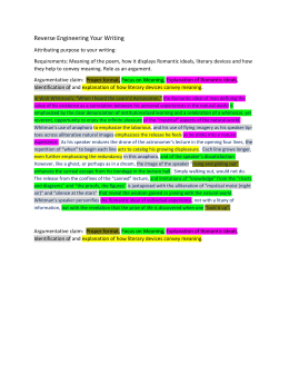 Reverse Engineering Your Writing
