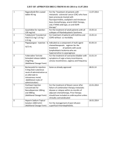LIST OF APPROVED DRUG FROM 01-01