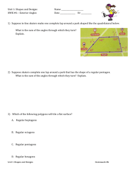 HWK #6 - exterior angles