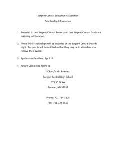 S.C. Education Association Scholarships