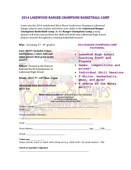 Youth Boys Basketball Camp Flyer