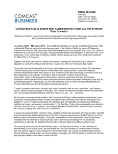 press release - Comcast Business