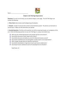 Name: Chapter 2 Unit Title Page Requirements Directions: For each