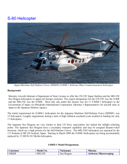 S-80 History Final Oct 8 2013 - Igor I. Sikorsky Historical Archives