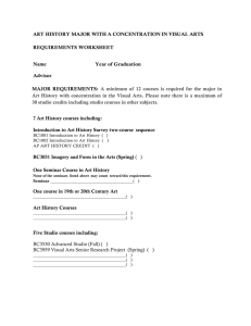 major requirement worksheet for the