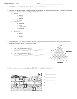 Rock Review Sheet