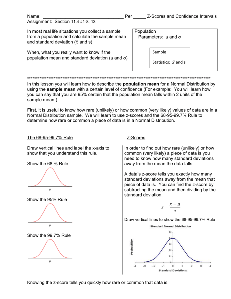 Zscore P 1g Upcoming Assignments And Events: Probabilities Using Normal How  To Are