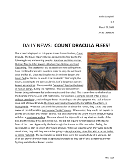 count dracula flees - LMS-English-8