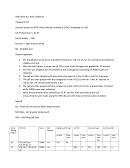 Lab Notes VSR_Ammonia_8_4_15