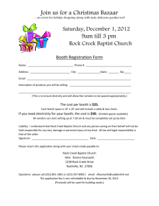 Booth Registration Form