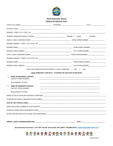 Enrollment Form & Tuition Agreement Form