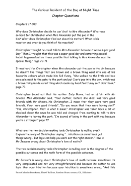 English Essay Outline Format The Curious Incident Of The Dog At Night Time Chapter Questions The Yellow Wallpaper Essays also Essays On High School The Curious Incident Of The Dog In The Nighttime My Country Sri Lanka Essay English