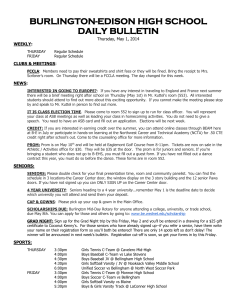 daily bulletin - Burlington