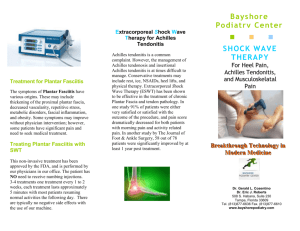 shock wave therapy - Bayshore Podiatry Center