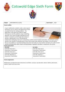 Click - Department of Mathematics