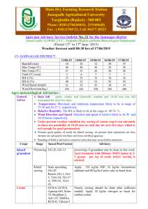 21 for the Jamnagar district - Agricultural Meteorology Division