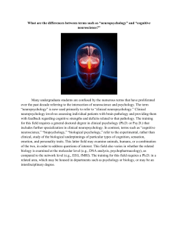Advising-statement-neuropsychology-and