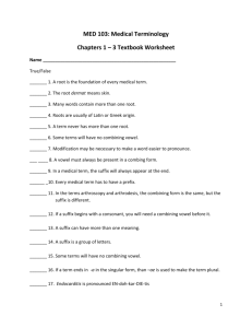 Chapters 1-3 Worksheet