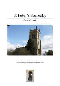 Church Web site - the Ironstone Churches in Leicestershire