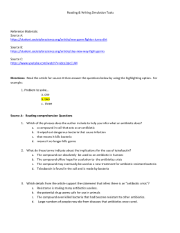Microbiology Chapter 10 test Answers