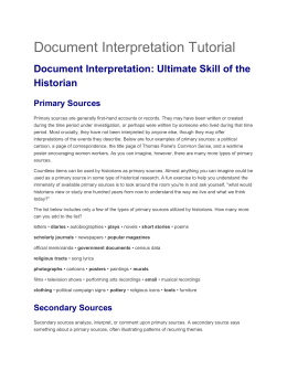 Document Interpretation Instructions