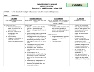 Science SOL 4.4 Map 2 - Augusta County Public Schools