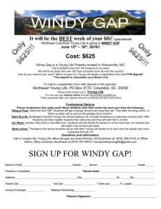 2016WGFlyer - NE Columbia Young Life