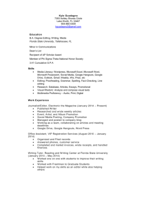 Functional resume (Education emphasis)