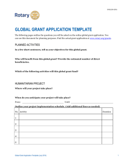 [doc] Global Grant Application Template